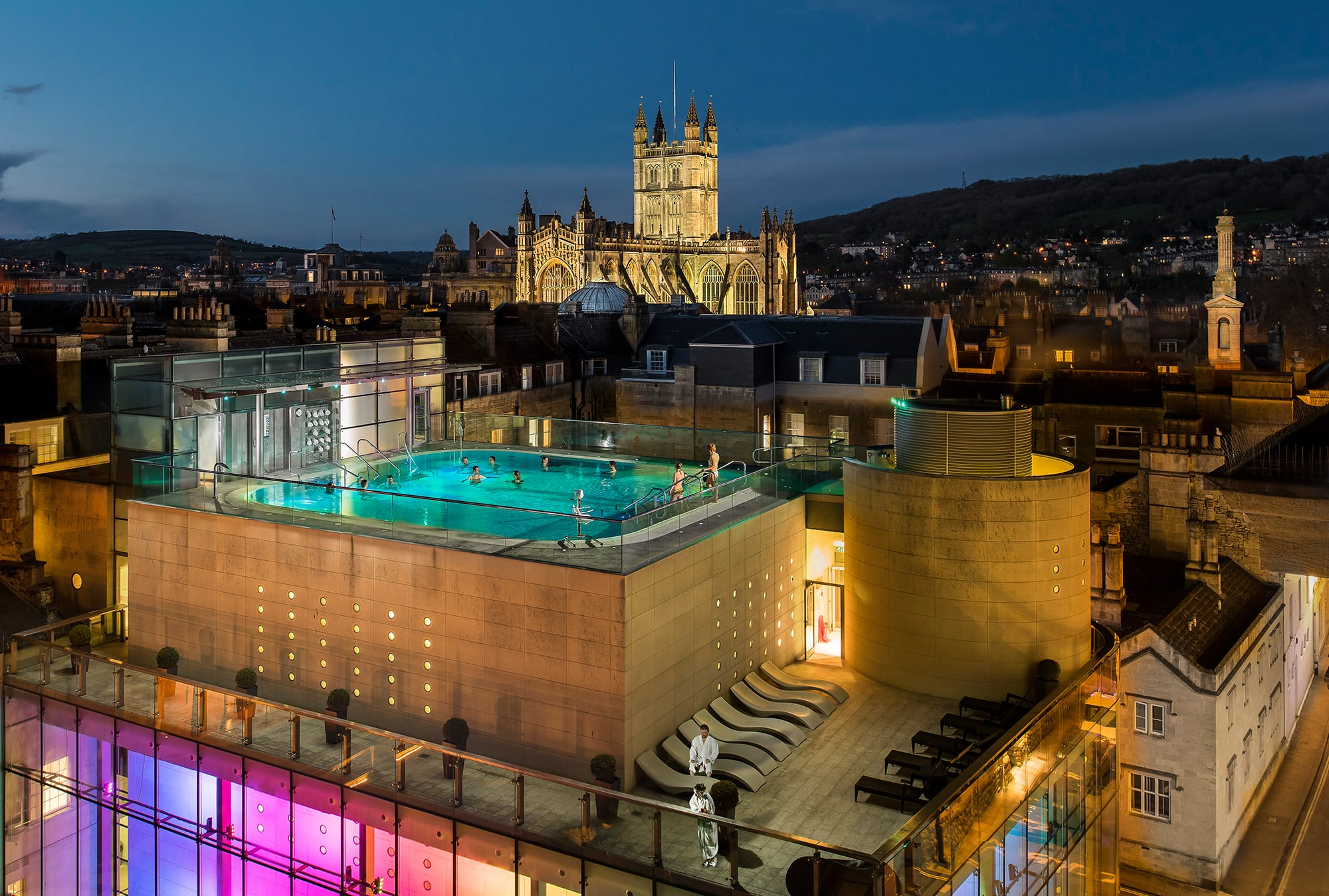 Stay at Dukes Bath and experience the relaxing Thermae Spa